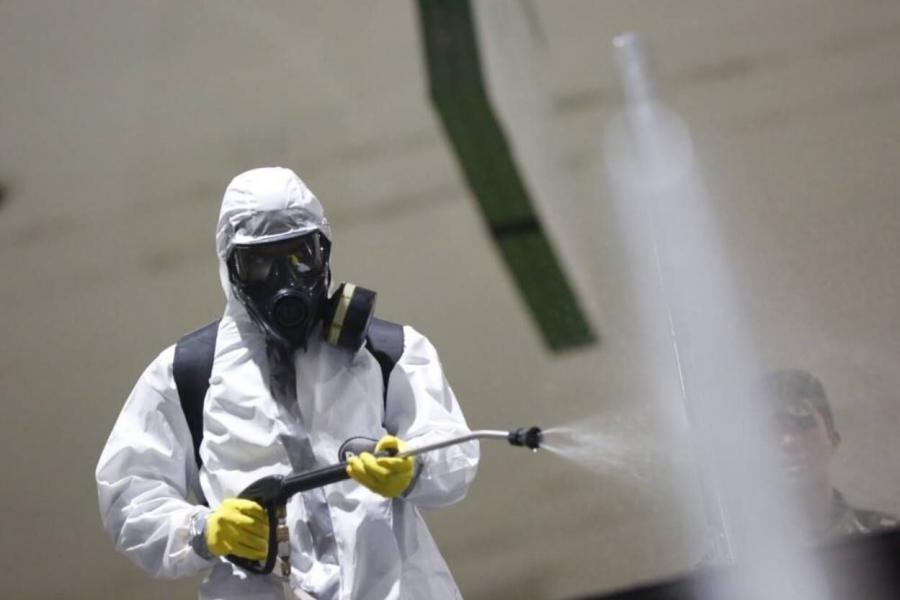 Como fazer a sanitização no ambiente de trabalho?